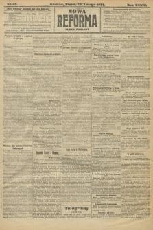 Nowa Reforma (wydanie poranne). 1914, nr43