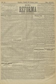 Nowa Reforma (wydanie popołudniowe). 1914, nr44