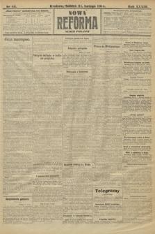 Nowa Reforma (wydanie poranne). 1914, nr45