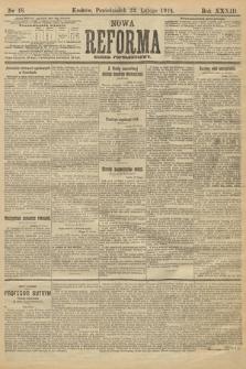 Nowa Reforma (wydanie popołudniowe). 1914, nr48