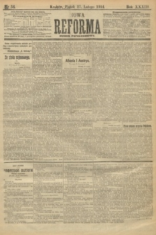 Nowa Reforma (wydanie popołudniowe). 1914, nr56