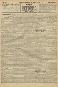 Nowa Reforma (wydanie poranne). 1914, nr65