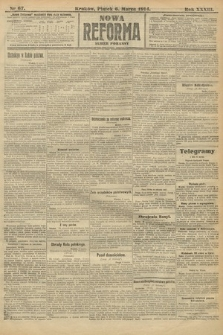 Nowa Reforma (wydanie poranne). 1914, nr67