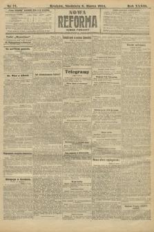Nowa Reforma (wydanie poranne). 1914, nr71