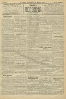 Nowa Reforma (wydanie poranne). 1914, nr77