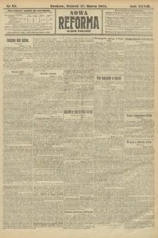 Nowa Reforma (wydanie poranne). 1914, nr85