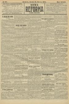 Nowa Reforma (wydanie poranne). 1914, nr87