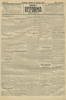 Nowa Reforma (wydanie poranne). 1914, nr101