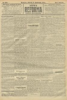 Nowa Reforma (wydanie popołudniowe). 1914, nr114