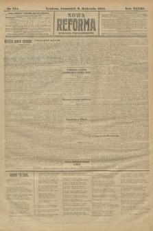 Nowa Reforma (wydanie popołudniowe). 1914, nr124