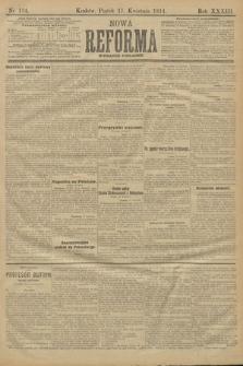 Nowa Reforma (wydanie poranne). 1914, nr134