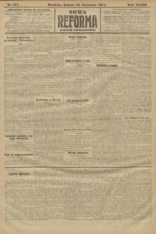 Nowa Reforma (wydanie popołudniowe). 1914, nr137