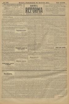 Nowa Reforma (wydanie popołudniowe). 1914, nr139