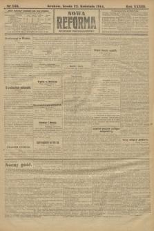Nowa Reforma (wydanie popołudniowe). 1914, nr143