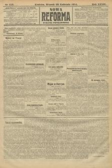 Nowa Reforma (wydanie popołudniowe). 1914, nr153