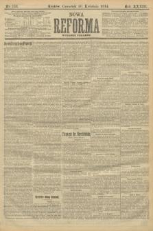 Nowa Reforma (wydanie poranne). 1914, nr156