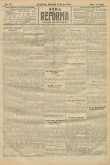 Nowa Reforma (wydanie popołudniowe). 1914, nr171