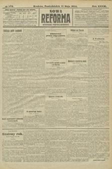 Nowa Reforma (wydanie popołudniowe). 1914, nr173