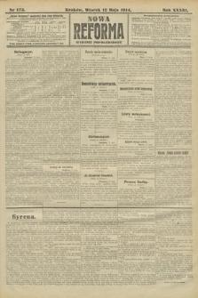Nowa Reforma (wydanie popołudniowe). 1914, nr175