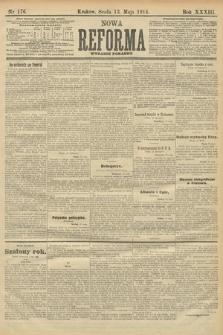 Nowa Reforma (wydanie poranne). 1914, nr176