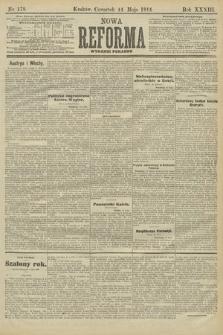 Nowa Reforma (wydanie poranne). 1914, nr178