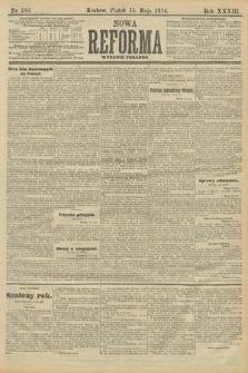 Nowa Reforma (wydanie poranne). 1914, nr180