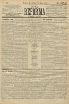 Nowa Reforma (wydanie poranne). 1914, nr184