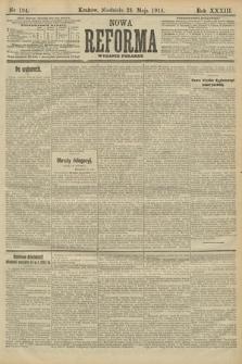 Nowa Reforma (wydanie poranne). 1914, nr194