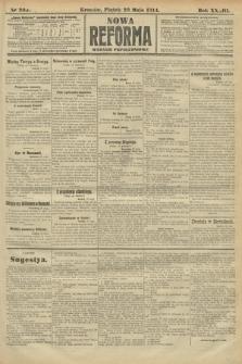 Nowa Reforma (wydanie popołudniowe). 1914, nr203