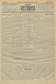 Nowa Reforma (wydanie popołudniowe). 1914, nr207