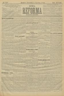 Nowa Reforma (wydanie poranne). 1914, nr210