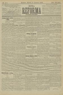 Nowa Reforma (wydanie poranne). 1914, nr214