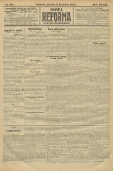 Nowa Reforma (wydanie popołudniowe). 1914, nr215