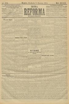 Nowa Reforma (wydanie poranne). 1914, nr216
