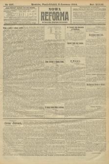 Nowa Reforma (wydanie popołudniowe). 1914, nr217