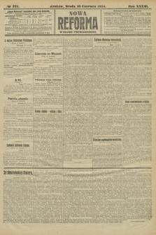 Nowa Reforma (wydanie popołudniowe). 1914, nr221