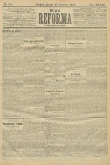 Nowa Reforma (wydanie poranne). 1914, nr224