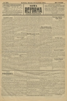 Nowa Reforma (wydanie popołudniowe). 1914, nr225