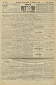 Nowa Reforma (wydanie popołudniowe). 1914, nr227