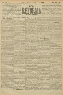 Nowa Reforma (wydanie poranne). 1914, nr228