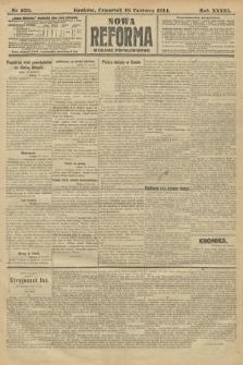 Nowa Reforma (wydanie popołudniowe). 1914, nr233
