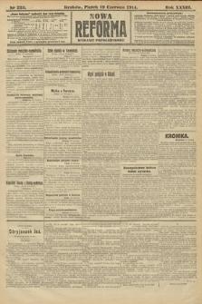 Nowa Reforma (wydanie popołudniowe). 1914, nr235