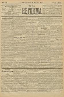 Nowa Reforma (wydanie poranne). 1914, nr236