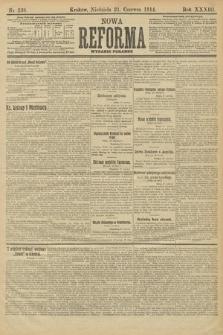 Nowa Reforma (wydanie poranne). 1914, nr238