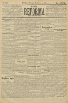 Nowa Reforma (wydanie poranne). 1914, nr240