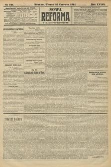 Nowa Reforma (wydanie popołudniowe). 1914, nr241