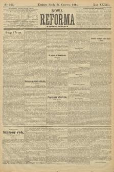 Nowa Reforma (wydanie poranne). 1914, nr242