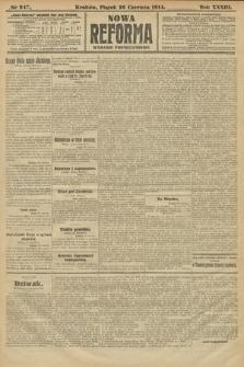 Nowa Reforma (wydanie popołudniowe). 1914, nr247