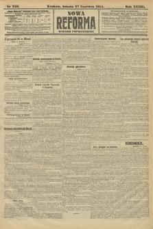 Nowa Reforma (wydanie popołudniowe). 1914, nr249