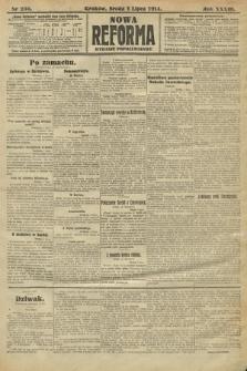 Nowa Reforma (wydanie popołudniowe). 1914, nr256